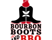 bourbon boots bbq logo